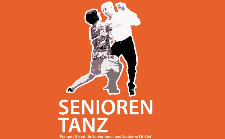 Senioren Tanz - zwei tanzende Menschen
